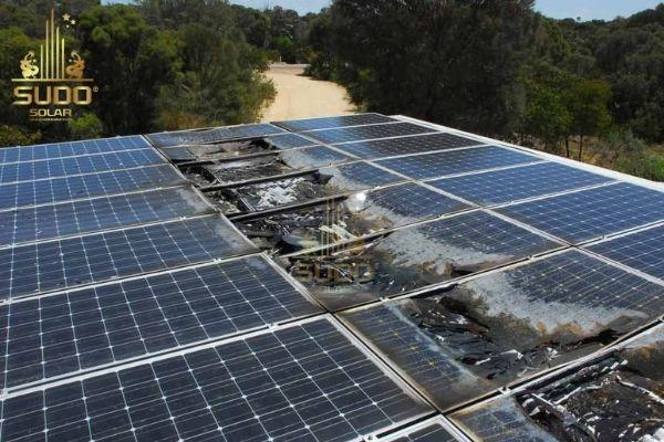 Lỗi kỹ thuật dẫn đến cháy hệ thống năng lượng mặt trời